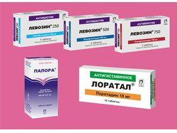 Упаковки лекарств