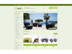 Интернет-магазин Responsive web design