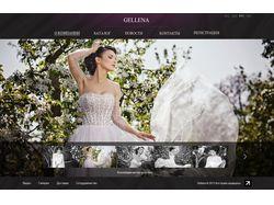 Пошив свадебных платьев Gallena