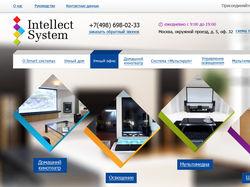 """Разработка сайта компании """"Intellect System"""""""