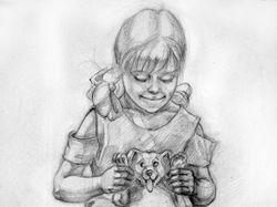 Девочка с собачкой