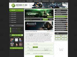 Страница материала Steam-ff.ru