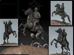 Скульптура Медный всадник