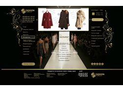 Дизайн сайта Feshion Public