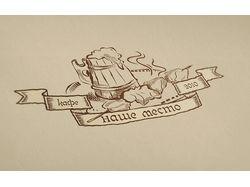 """Логотип кафе """"Наше место"""""""