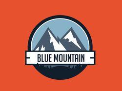 Логотип Blue Mountain