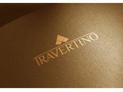 Логотип Травертино.
