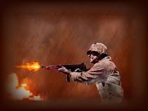 Демо баннера для игры-стрелялки