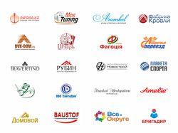 Подборка лучших разработанный логотипов