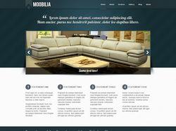Сайт визитка мебельного предприятия