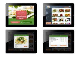 Электронное меню. iPad