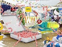 Новогодняя креативная лаборатория «Camel»
