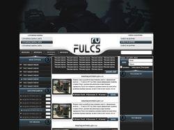 Верстка дизайна FULCS.Ru #1