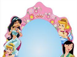 Дизайн зеркала в детскую для девочки