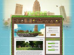 Дизайн для сайта BinMine