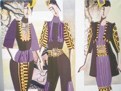 рисую модели одежды, коллекции