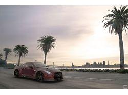 Модель и рендеринг Nissan GTR
