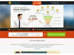 Продающая страница (LANDING PAGE) / вашипродажи.рф