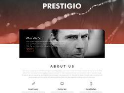 Prestigio - WordPress шаблон