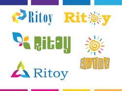 """логотип для магазина игр """"Ritoy"""""""