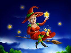 Ведьмочка-старушка