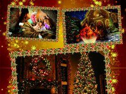 Рождественский коллаж