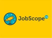 "Логотип для сайта ""JobScope"""