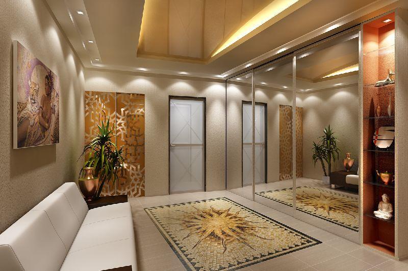 Дизайн больших коридоров в доме