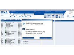 Export ETKA electronic catalog to MySQL
