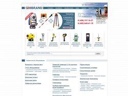 """Интернет-магазин """"Geobrand"""""""
