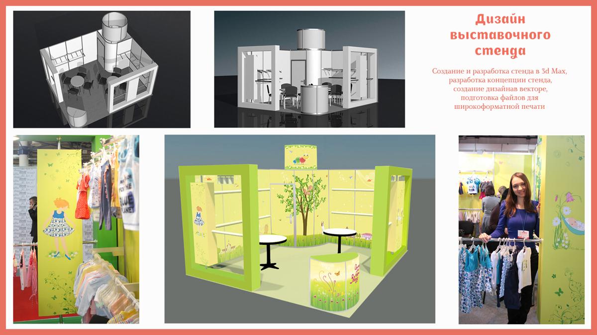 Дизайн стендов выставочных