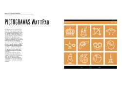 Пиктограммы для приложения WATTPAD