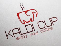 Логотип для магазина кофе