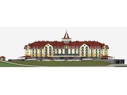 Гостиничный комплекс на 300 мест в  Закарпатье