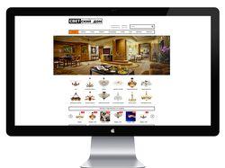 Светский дом - Сайт-каталог люстр, бра...