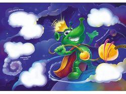 Иллюстрации для детской бумажной книги