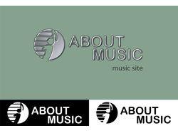 Логотип для музыкального сайта
