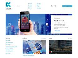 Создание сайта для DOWL Corporation