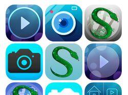 Иконки мобильных приложений