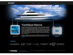 Cайт wifi технологии для Яхт | Wordpress