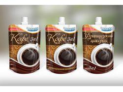 Упаковка для пастообразного кофе и цикория