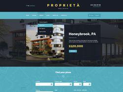 Proprieta - WordPress шаблон
