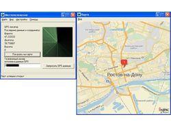 Определение местоположения по GPS