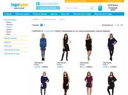Интернет магазин одежды (Opencart)