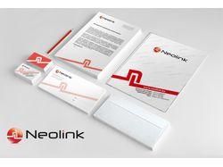 """Фирменный стиль компании """"Neolink"""""""