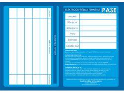 Паспорт для BlueShockBike