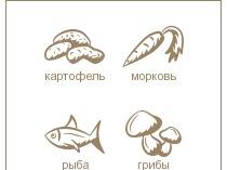 Плоские иконки для кулинарного сайта Поварешкин