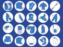 Иконки для ярлыков для пуховых курток BASK