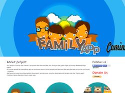 Проект Family app, front end / back end