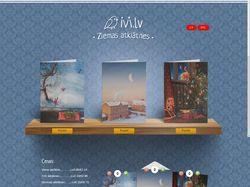 cards.ivi.lv , front end / back end